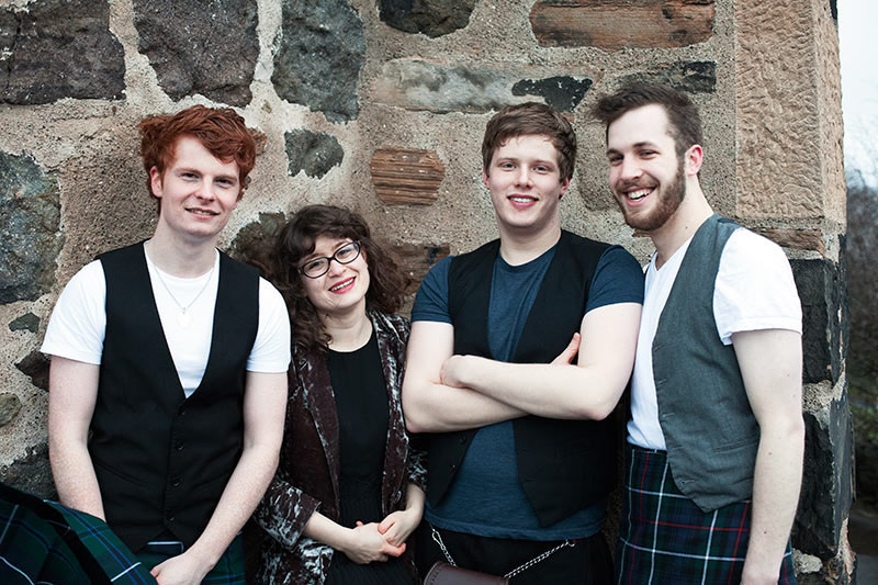 The Sleekit Beasties Scottish Wedding Band Music For Scotland